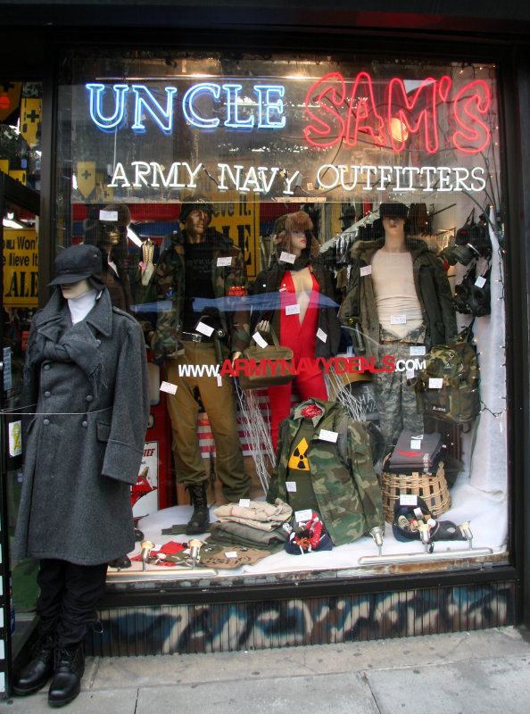 Uncle Sams Army & Navy Outfitters