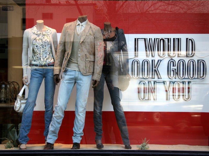 Diesel Clothing Store Window