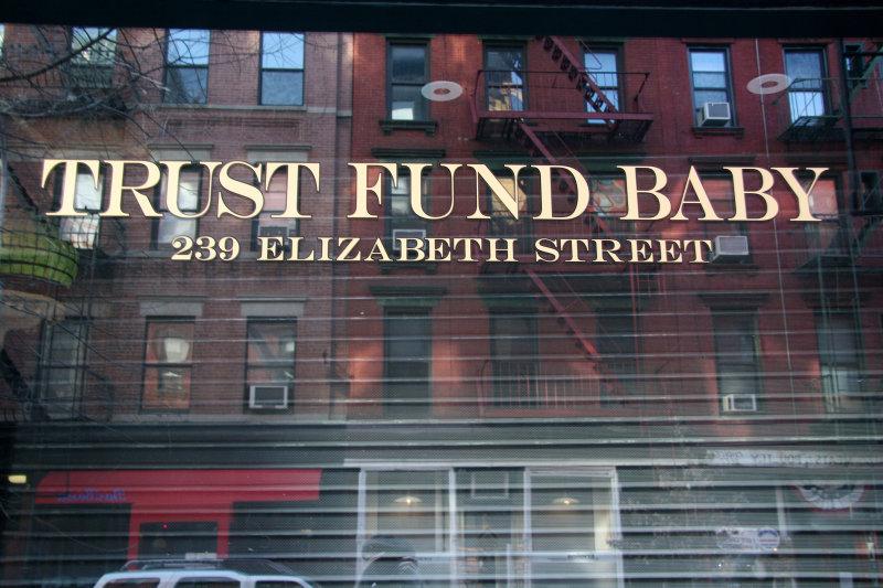 Trust Fund Baby Store
