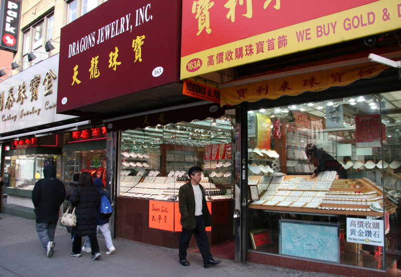Chinese Jewelry Stores