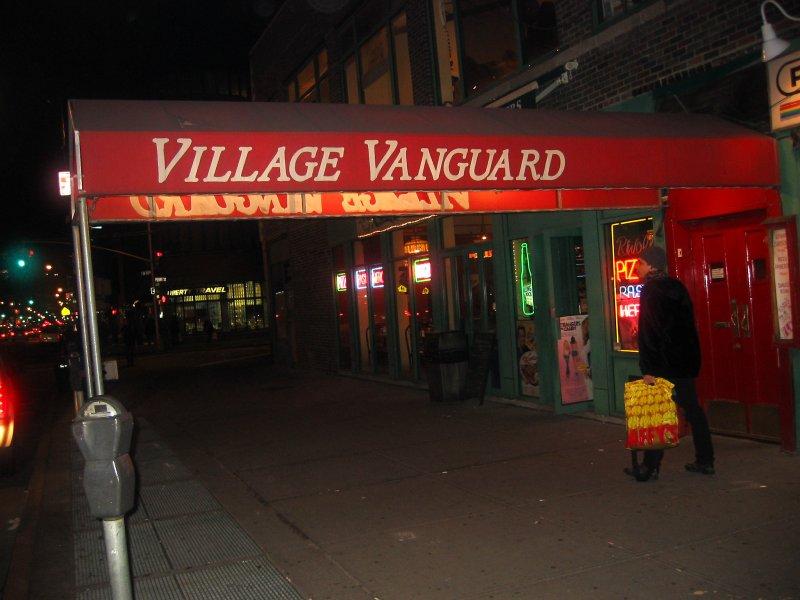 Village Vanguard Jazz Club Markee