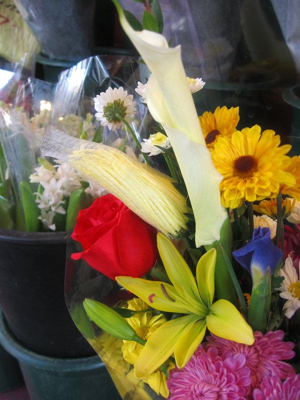 Florist Shop Bouquet at Key Food Market
