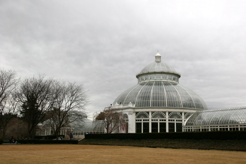 Enid A Haupt Conservatory