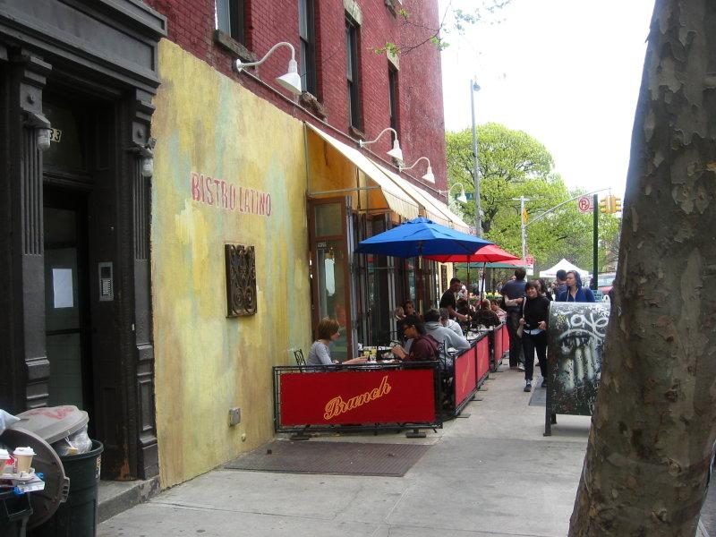 Bistro Latino Sidewalk Cafe on Avenue A