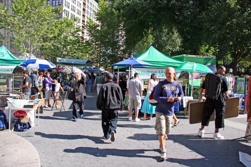 Farmers Market Entrance at Union Square West