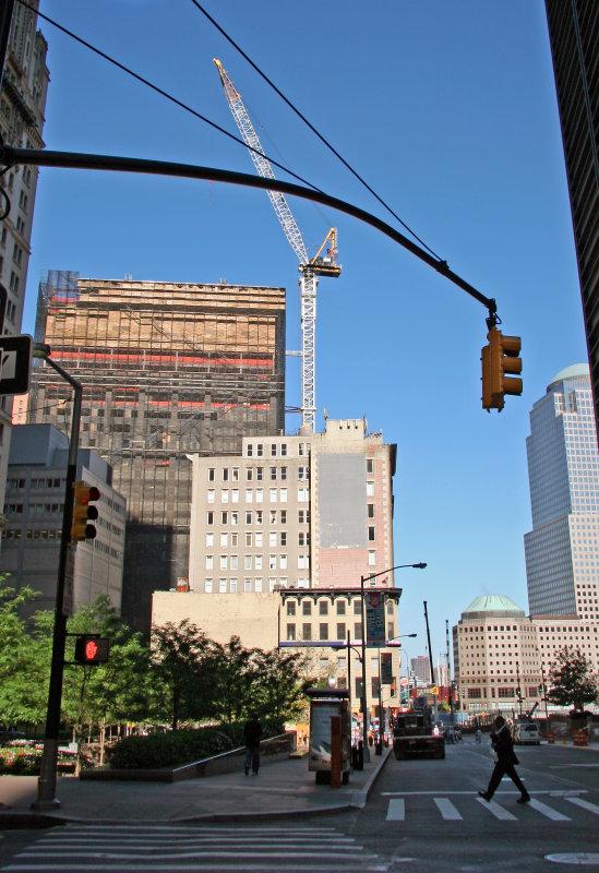 Deutches Bank Demolition at Ground Zero