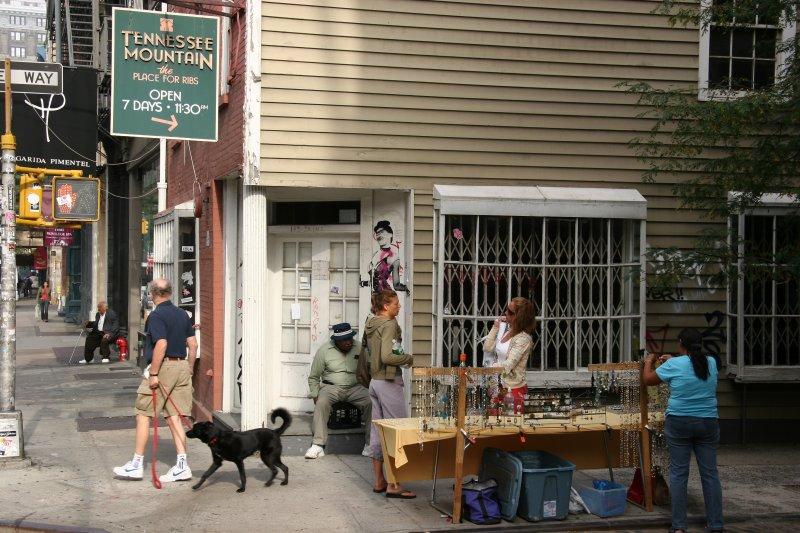 Northwest Corner at Wooster Street