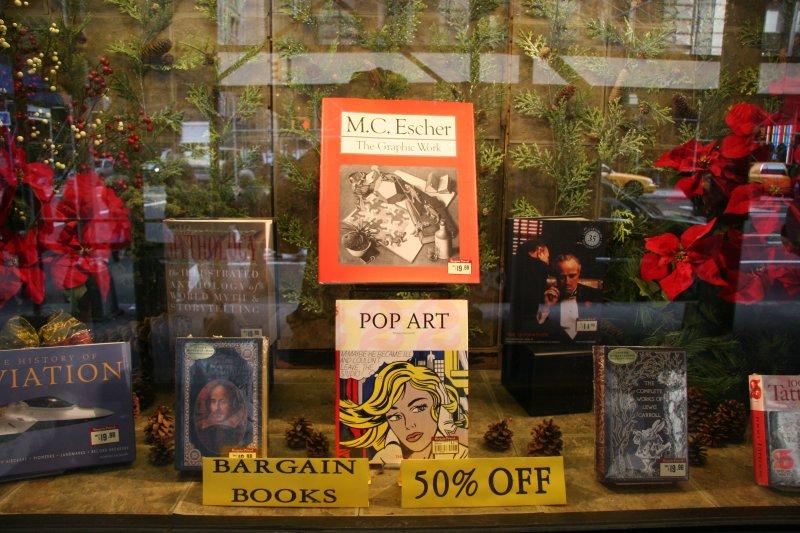 Barnes & Noble Main Bookstore Window
