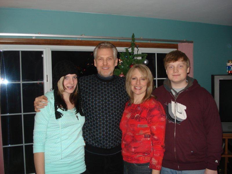 Lena, Jeff, Carolyn, and Evan