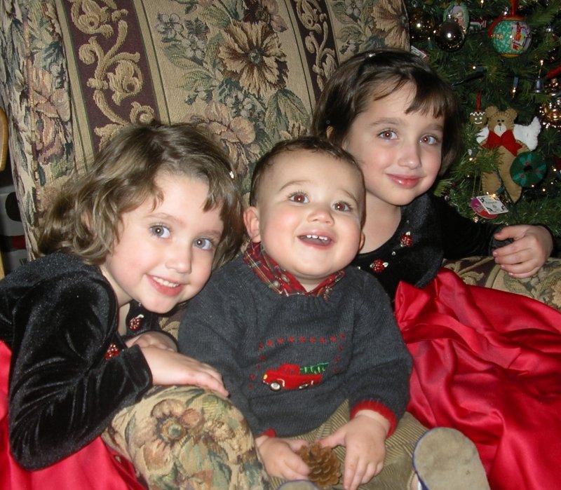 Julia, Ava & William (Michaels children)