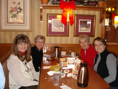 Marianne , Marilyn , Shirley , and Barbara .Iowa gister sisters!