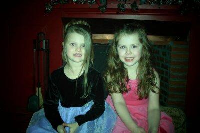 Mauras kids, Bella (4) and Michaella (5)