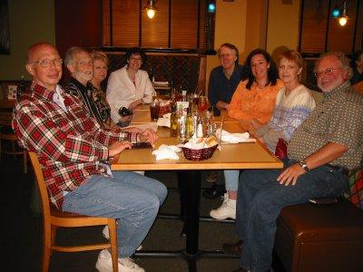 Steve,Duane, Joyce, Marina, Chris, Karen, Nan, Tim