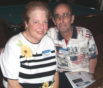 Marv and wife Elaine