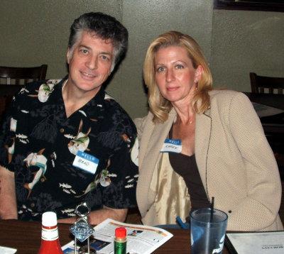 Brad and wife, Karen
