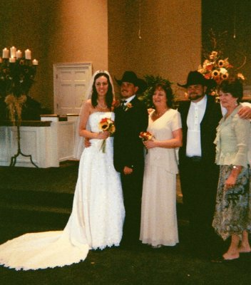 Keri ,daughter in law,Jess-son,  me Cyndi, Cory-son, and Serena my Gister Sister!