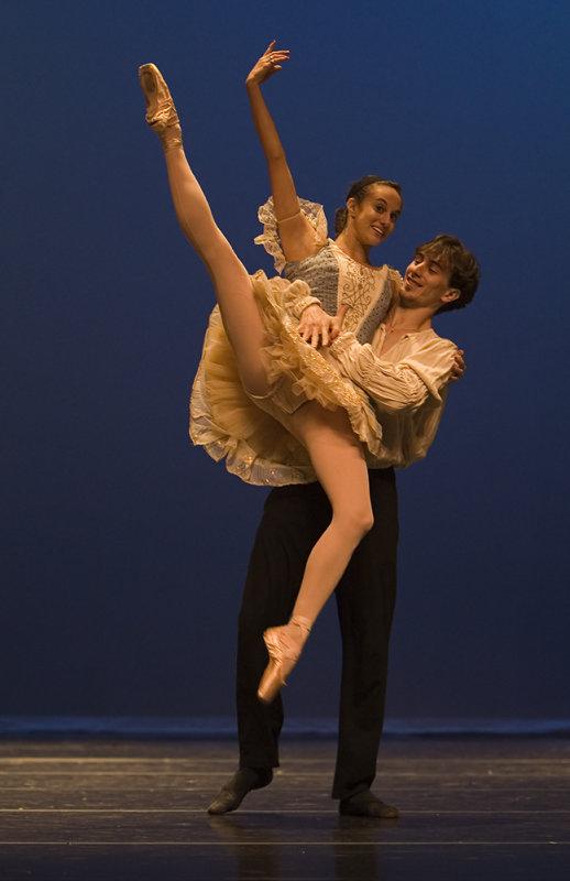Alessandra Ball and Christian Clark