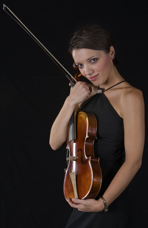Love my Viola and My Bow