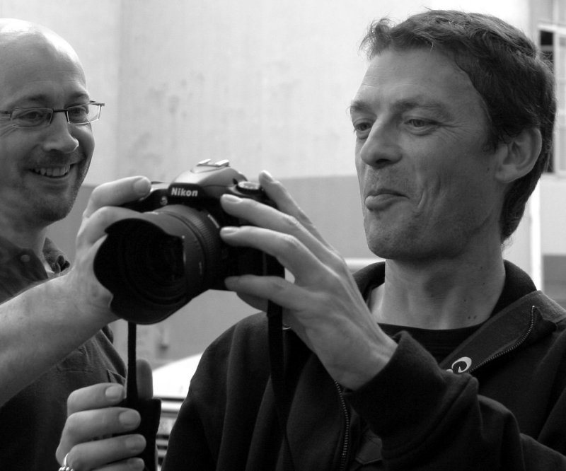 Canonian (Guillaume) and Nikonian (Ade)