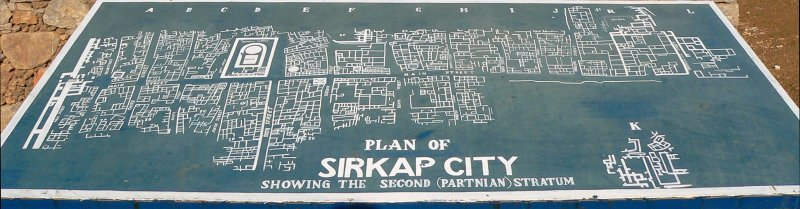 Sirkap City Plan - Taxila - 384.jpg