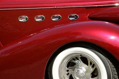 54 Portholes on 37 Buick