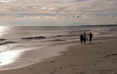 Winters day on the beach