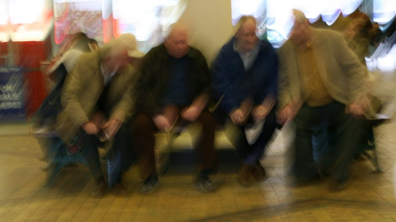 Shaky old men