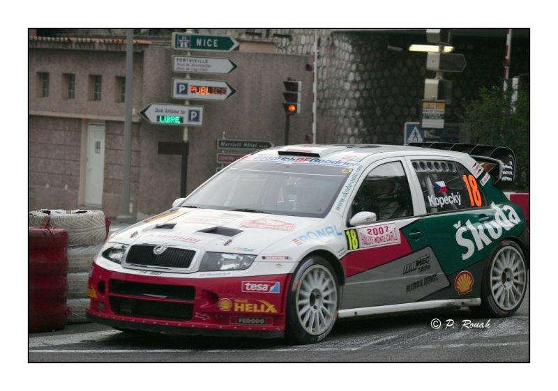 N° 18 - Kopecky Skoda Fabia in the race