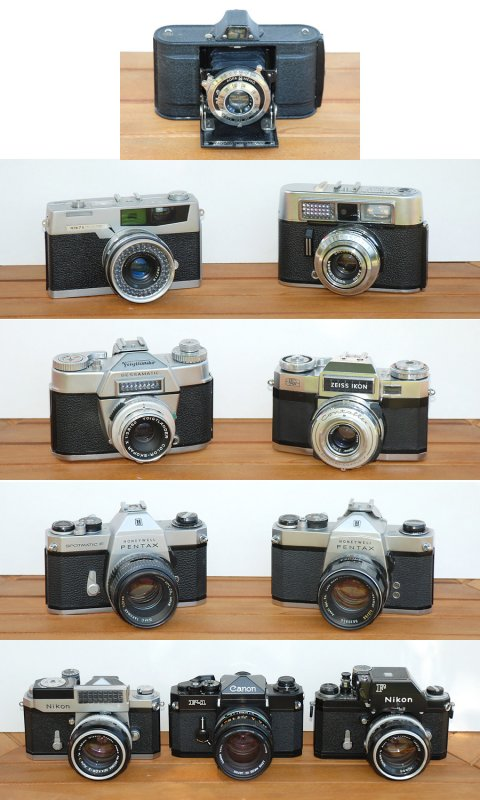 Some of my old film cameras