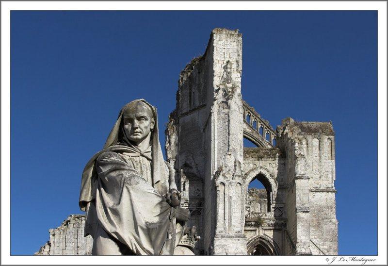 Ruins St Bertin