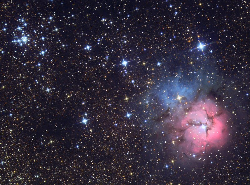 M20 Trifid Nebula  - 2005 David Malin Award winner