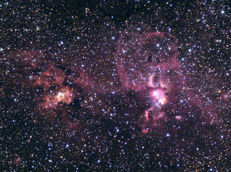 NGC 3576 in US Astronomy Magazine
