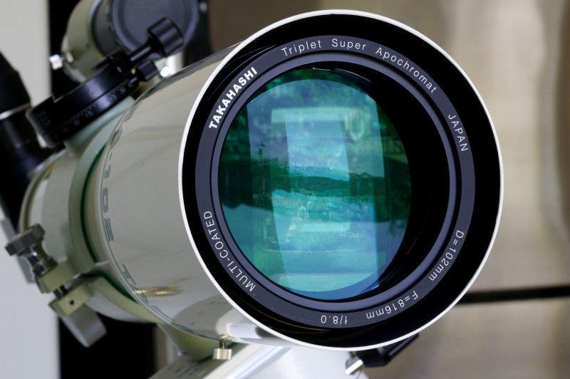 Tak TSA-102S objective lens