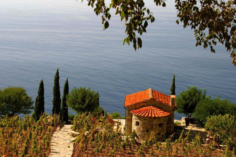 Elba clifftop house