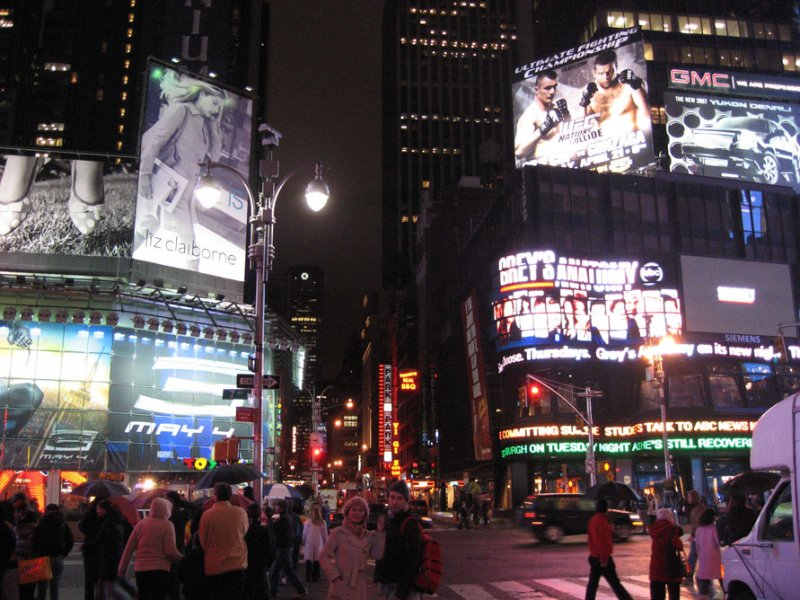 Times Square, Easter 2007