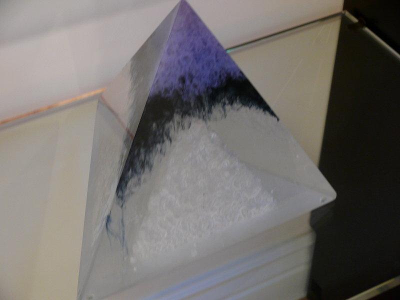 #25 Colin Reid-Pyramid sculpture