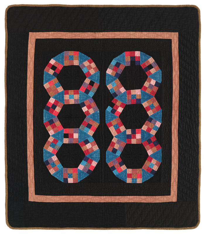 091: Original Pattern, Holmes County, OH  c.1930   35x39