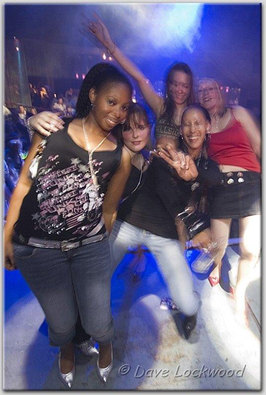 On Stage @ Glam Disco, Visage, Huddersfield