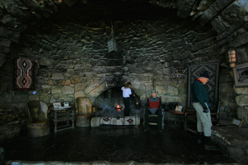 Fireplace at Hermits Rest