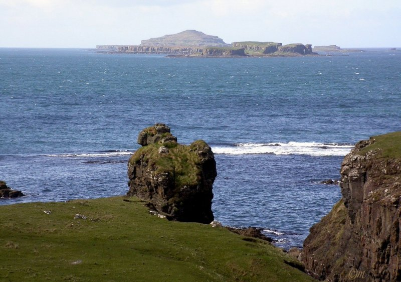 Treshnish Islands - sufficiently different from each view that the walk guide is in terms of which you can see!