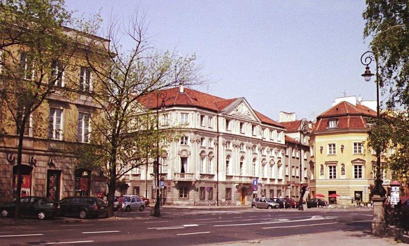 Krakowskie Przedmiescie - my grandfather lived just round the corner