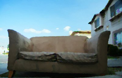 Street Couch * Traveller