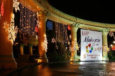 Christmas Decoration in Sunway Resort Hotel.jpg