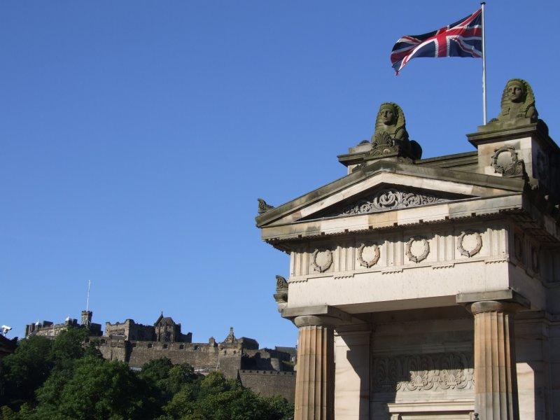 Union Jack National Gallery Edinburgh.JPG
