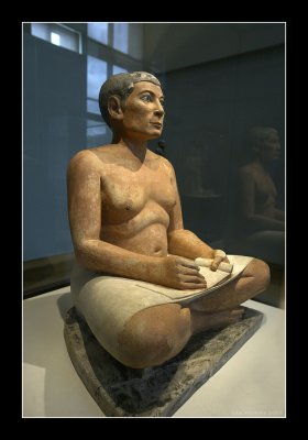 The Seated Scribe 2500 BC