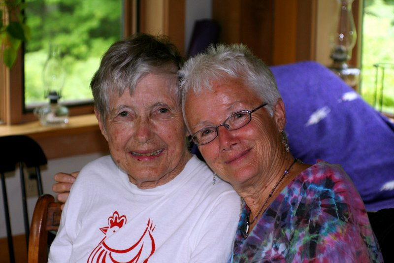 my visit with Mary White
