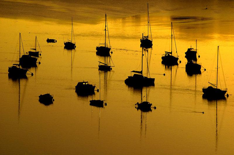 Sunrise at Dittisham (3057)