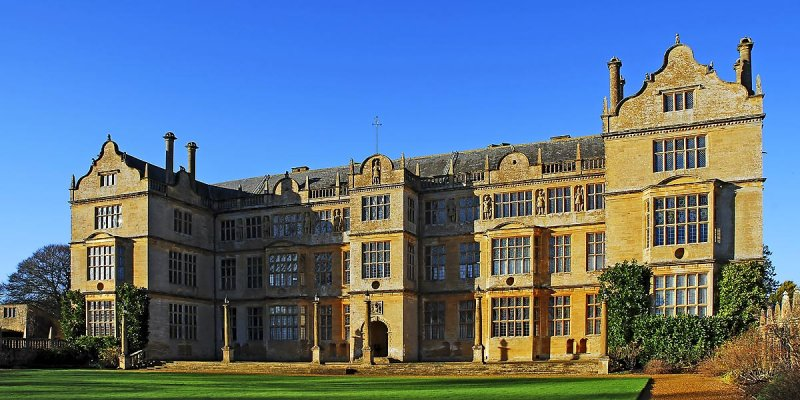 Montacute House ~ back view