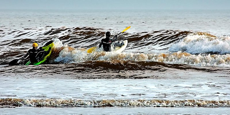 Canoeists, Sidmouth