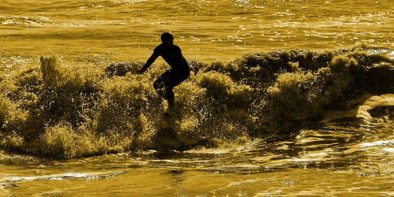 Surfer, Sidmouth
